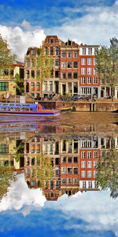 Amsterdam canals- Xelboo Dutch art