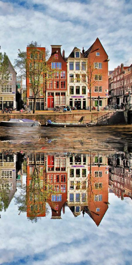 Amsterdam canals - Xelboo Dutch art