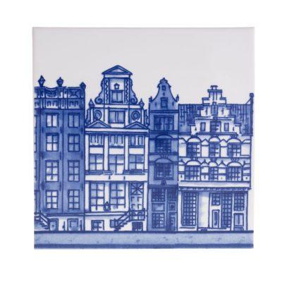 """Delft Blue tile """"canals 2"""""""
