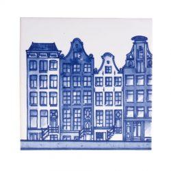 """Delft Blue tile """"canals 3"""""""