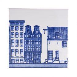 """Delft Blue tile """"canals 4"""""""