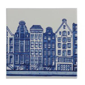 """Delft Blue tile """"canals"""""""
