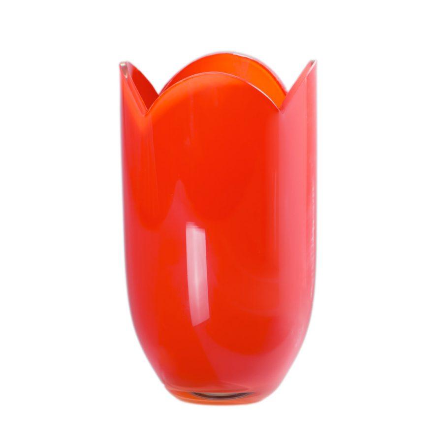 Tulip Vase Red