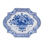 Plate Flowerbasket 30/23