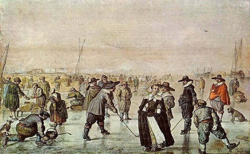 dutch ice skating
