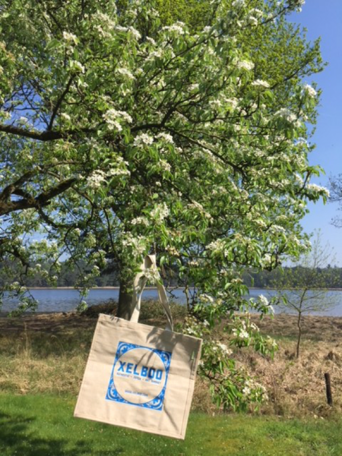 International Earth Day 2018, Ecological shopping Bag, proud to be Dutch Xelboo business art gifts