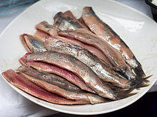 A plate of Dutch Herring