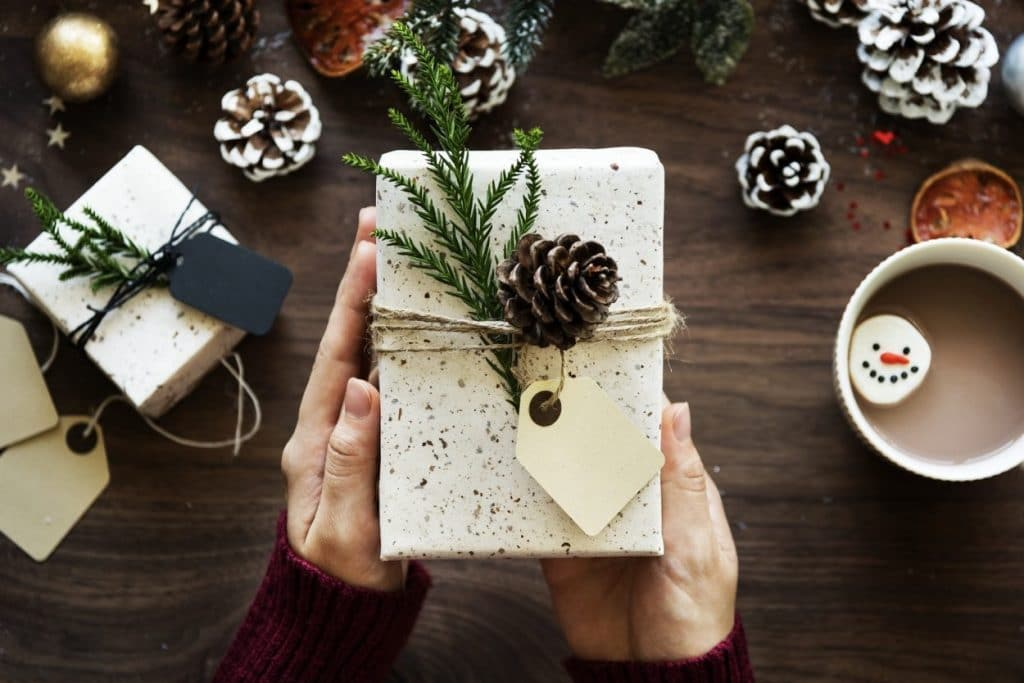 b2b christmas gift employees en customers 2018